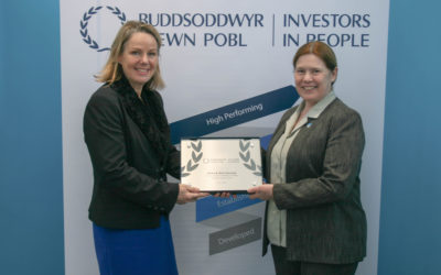 Wales & West Housing shortlisted for prestigious  Investors in People Awards 2018