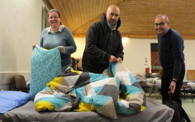 Volunteers at Wrexham Night Shelter
